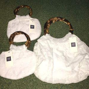 Cute Gap Mother Daughter purses new with tags